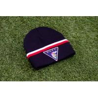 B/W/R Beanie Hat