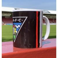 B/W/R Crest Mug